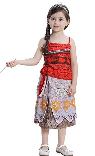 Kinder 2 STÜCKE Rote Sommerkleid Film Charakter Cosplay Kostüm Shows Parteien Kleid (Besten Film Charaktere Kostüme)