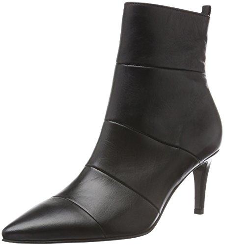 Kennel und Schmenger Schuhmanufaktur Damen Liz Kurzschaft Stiefel Schwarz (schwarz 330)