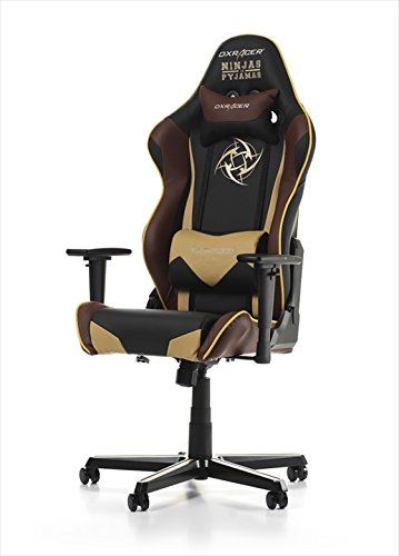 DX Racer Racing NIP – Asiento gaming Negro
