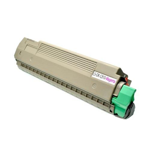 C830 Magenta Toner (Logic-Seek Toner für Oki C810 / C830 44059106, 8000 Seiten, magenta)