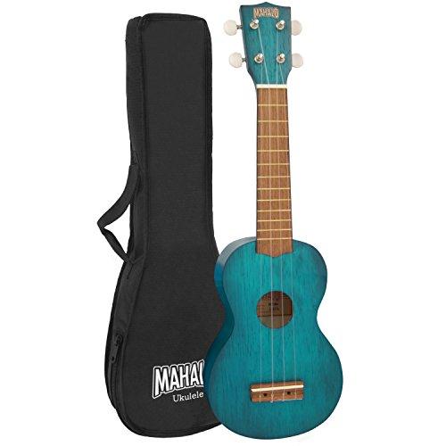 Mahalo Kahiko ukelele Soprano 2500 Series - azul