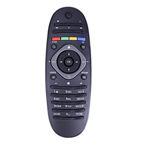 prettygood7 Universal Fernbedienung passend für Philips TV/DVD/Aux Fernbedienung