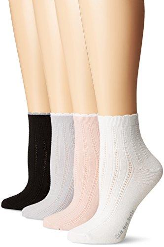 HUE Women's Casual Sock pack of 4