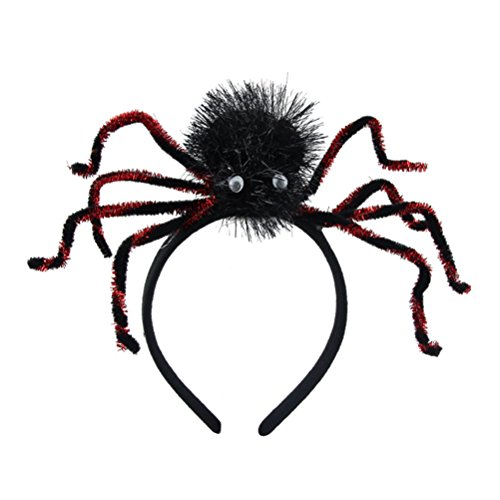 Tinksky Halloween Stirnband Cosplay Spider Kopfschmuck Party Dress Up Urlaub Halloween Kostüm Haarschmuck (Kostüm Beine Spider)