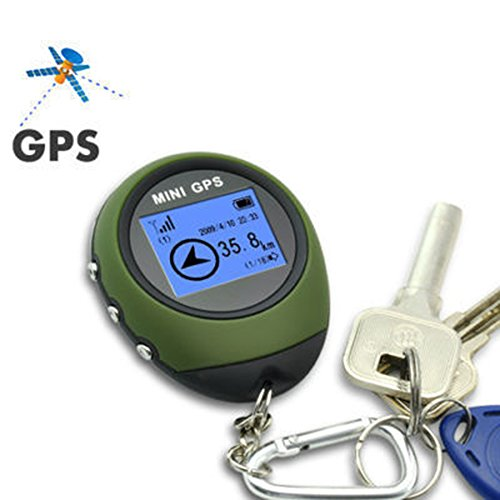 FUQUN Mini Portable Location Finder Handheld mini GPS Navigation For Outdoor Sport Travel, Adventure, climb a mountain