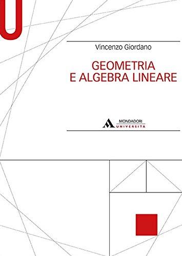 Geometria e algebra lineare di Vincenzo Giordano
