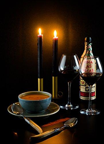 6/Piezas LAGUIOLE Style de Vie Cuchara Sopera Luxury Line Acero Inoxidable