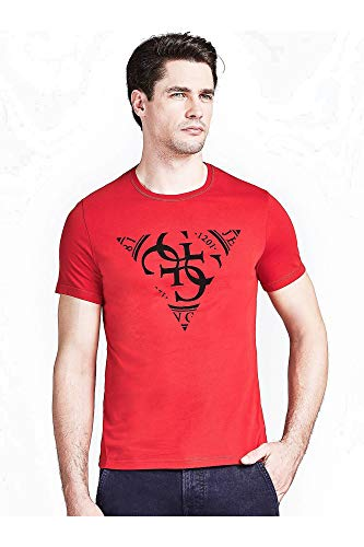 Guess 1 USCITA T-Shirt Uomo Mod. M91I35 RED XL