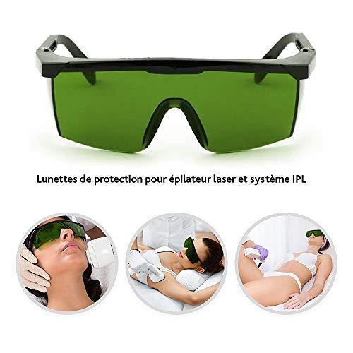Laser UV-Schutzbrille-Ipl Beauty Equipment Brille-Gepulste Photochemische Schutzbrille-Kratzschutzbrille-Fotoelektrische Schutzbrillen-FüR Die Industrielle Landwirtschaft,Labors,SchöNheitssalons Usw