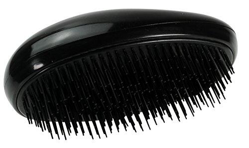 Fertige Mode (Immerschön Magische Haarbürste schwarz Magic Hair Brush - entwirrt und entknotet langes Haar ohne Ziepen - einfach bürsten und fertig!)
