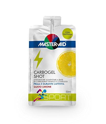 Master Aid Sport Carbogel Shot - 12 Prodotti