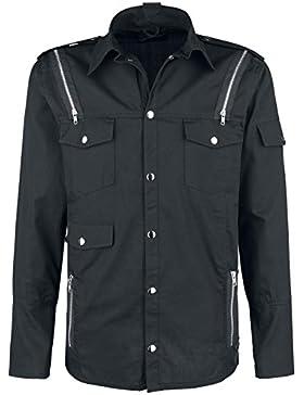 Vixxsin Gable Shirt Camisa Negro