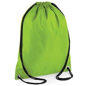 41DflhpohUL. SS300  - BagBase - Mochila saco o de cuerdas Impermeable/resistente al agua Deporte/Gimnasio (11 litros)