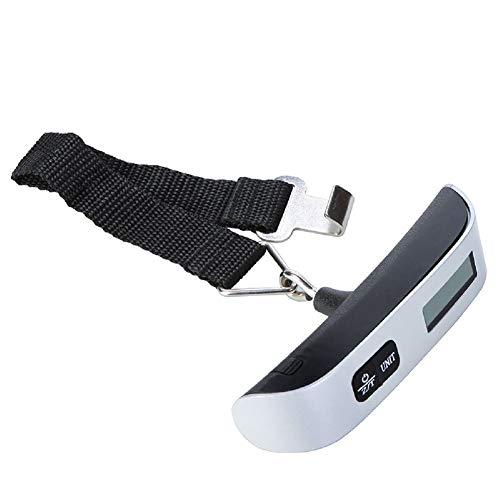 Rotihyda bilancia da cucina 50 kg / 110lb gancio scala cintura bilancia elettronica digitale per viaggio valigia bagagli appeso bilance pesatura a mano tenuto, il colore come immagine