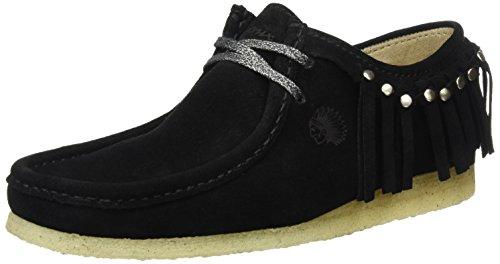 Sioux Grash.-d161-03, Mocassins (loafers) femme Schwarz (Schwarz)