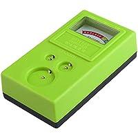 Comprobador de Bateria Pila de boton - SODIAL(R)1.55V y 3V Comprobador de Bateria Pila de boton Probador de bateria Verde