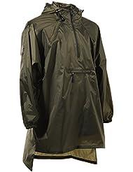 4ucycling Unisexe Manteau de pluie avec capuche Vélo Ren Gen Poncho Outdoor Sport Veste de pluie