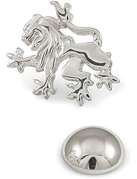 ZAUNICK Schottland Löwe Anstecknadel Silber 925 handgefertigt