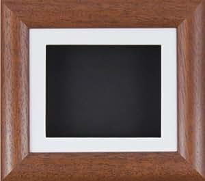 babyrice cadre profond pour affichage objets passe chaussons b b bois fonc passe partout blanc. Black Bedroom Furniture Sets. Home Design Ideas