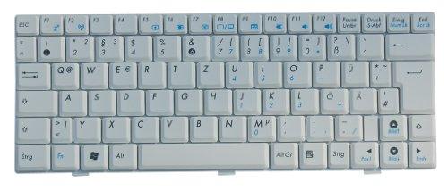 Original Tastatur ASUS Eee PC 904, ASUS Eee PC 904HA, ASUS Eee PC 904HD, ASUS Eee PC 1002HA Series Weiss DE NEU - Asus Eee Pc 1002ha