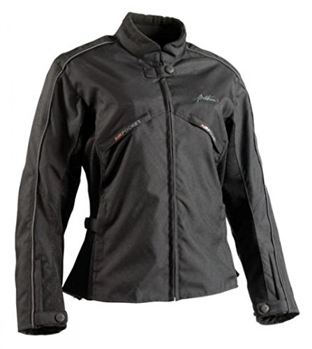 Blouson Moto MELT Femme Noir Taille XS Taille Blouson