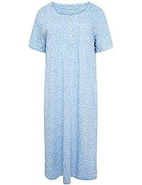 b37ea90152 Women s Short Sleeved 100% Cotton Jersey Nightdress