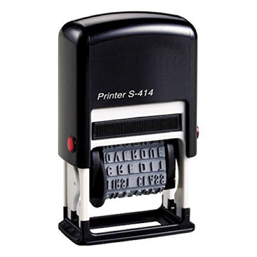 Polinomio S-414 nero 12 diciture