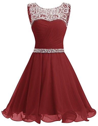 Toscana sposa Mermaid a forma di cuore Chiffon sera vestimento sposa giovane a lungo un'ampia Party lunghezza ball vestimento rosso vivo