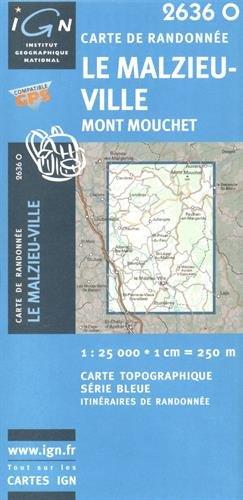 Le Malzieu-Ville / Mont Mouchet GPS: Ign2636o
