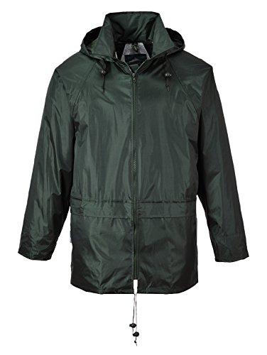 Portwest s440yers della classica giacca pioggia Olivegrün