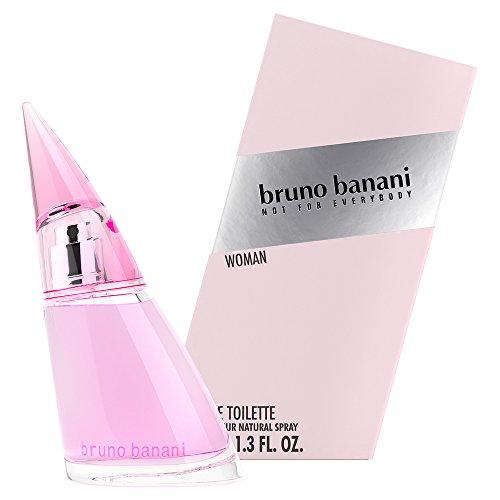 bruno banani Woman - Eau de Toilette Natural Spray - Blumig-fruchtiges Damen Parfüm - 1er Pack (1 x 40ml)