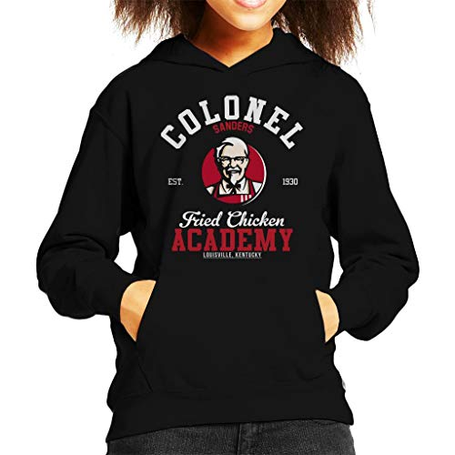 Cloud City 7 Colonel Sanders Fried Chicken Academy KFC Kid's Hooded Sweatshirt