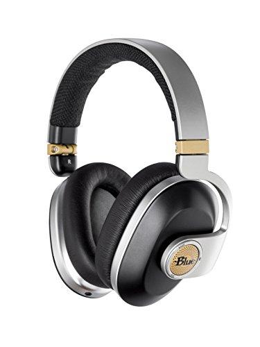 Blue Microphones 7143 Premium-Funkkopfhörer mit Noise-Cancelling-Funktion und integriertem Audiophilen Verstärker schwarz