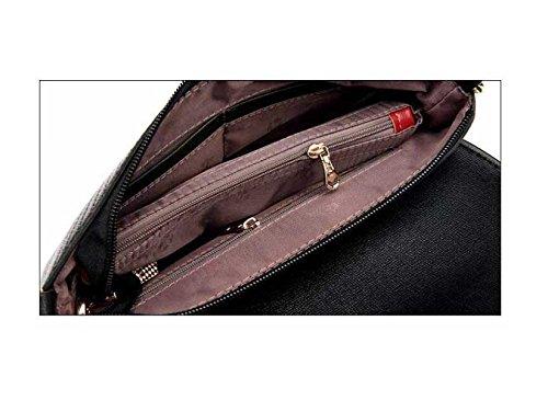 Spalla Busta Borsa Banchetto Personalizzato Messenger Bag Borsa A Mano Casuale Purple