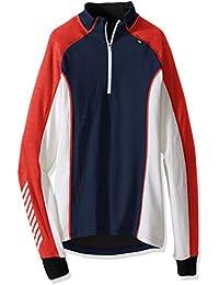 Helly Hansen Hh Warm Freeze 1/2 Zip - Camiseta interior manga larga para hombre, multicolor, talla M