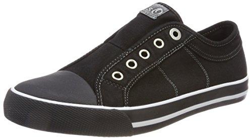 s.Oliver Damen 24635 Sneaker, Schwarz (Black), 39 EU
