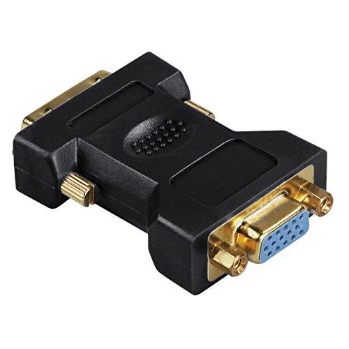 Hama VGA-DVI-Adapter, DVI-Stecker - VGA-Kupplung, vergoldet, geschirmt - Vergoldete Hd15-adapter