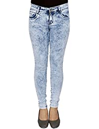 LondonHouze Blue Burnt Look Jeans
