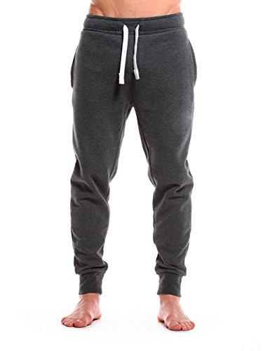 Casual Standard Jogginghose Herren Sweatpants Sporthose Trainingshose Jogger (L, Dunkelgrau)