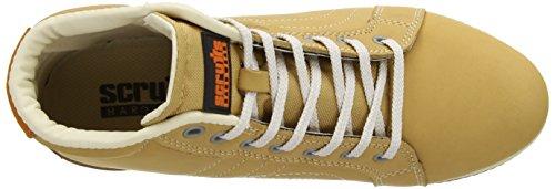 Scruffs Eden Boot, Chaussures de sécurité femme Beige - Brun
