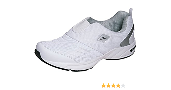 Buy Campus Men's White Synthetic Shoes