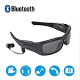XXBF 1080P-kopfmontierte V4.1-polarisierte Bluetooth-Brille Multi-Funktions-MP3-Outdoor-Sport mit digitaler DV 480 mAh-Lithiumbatterie
