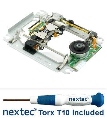 Neu - Sony PS3 Laser + Rahmen (KES-410A/ KES-410ACA/ KEM-410A/ KEM-410ACA) + Nextec® Torx T10 Security Schraubendreher -