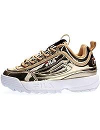 4bb9dbcd217d0 Amazon.it  Oro - Sneaker   Scarpe da donna  Scarpe e borse