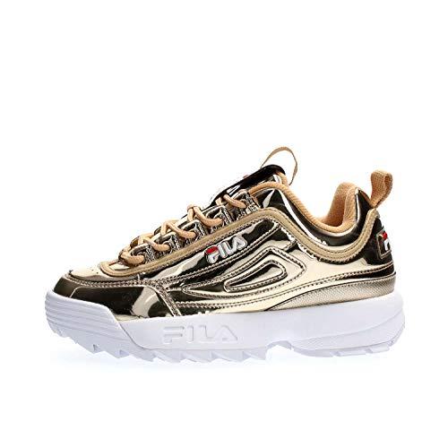 Fila Disruptor M Low Wmn Schuhe Damen Gold 37 -