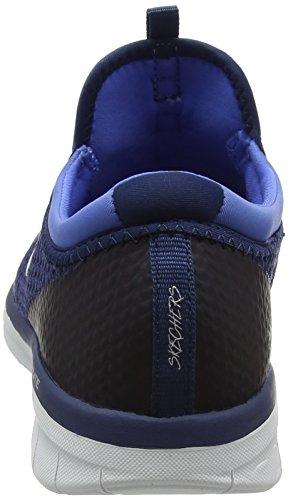 Skechers Ladies Synergy 2.0-mirror Image Instructor Blu (blu / Blu)