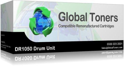 Global Toner kompatibel dr-1050Trommeleinheit für Brother HL-1110hl-1110e hl-1110r-1112hl-1112e hl-1112r hl-1210W hl-1212W, MFC-1810mfc-1810e mfc-1810r mfc-1815r mfc-1910W, 10000Seiten