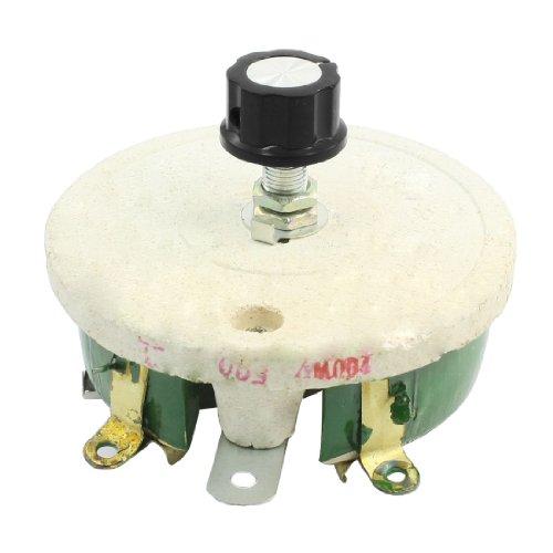 sourcing map Drahtwiderstand Keramik Potentiometer Verstellbar Rheostat Widerstand 200W 500ohm DE de -