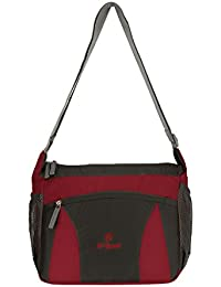 Hi-Speed Shoulder Sling Bag BlackRed| Cross Body Travelers Sling Bag | Coaching,School Bag,Book Bag Turquoise...
