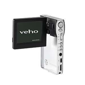 Veho VCC-001 Kuzo HD Ultra Slim Pocket Camcorder and MP3 Player